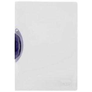 Leitz A4 Color Clip Magic Sıkıştırmalı Dosya Koyu Gri buyuk 1
