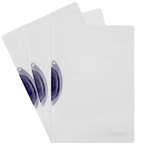 Leitz A4 Color Clip Magic Sıkıştırmalı Dosya Koyu Gri buyuk 2