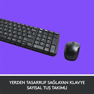 Logitech MK220 Combo Q Klavye-Mouse Kablosuz Set 920-003163 buyuk 3