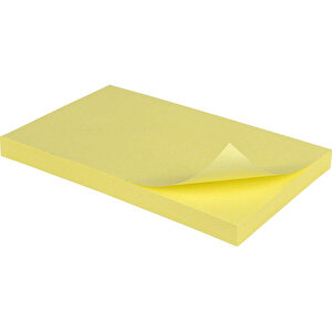 Post-it 655 Yapışkanlı Not Kağıdı 76 mm x 127 mm Sarı 100 Yaprak buyuk 2