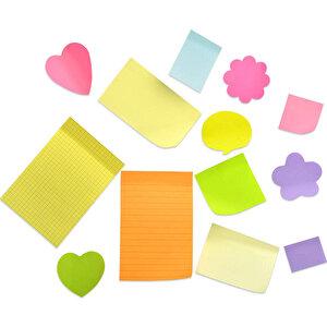 Post-it Yapışkanlı Not Kağıdı Z 76 mm x 76 mm Neon Renkler 100 Yaprak 6'lı Paket buyuk 3