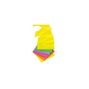Post-it Yapışkanlı Not Kağıdı Z 76 mm x 76 mm Neon Renkler 100 Yaprak 6'lı Paket buyuk 4