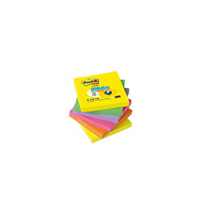 Post-it Yapışkanlı Not Kağıdı Z 76 mm x 76 mm Neon Renkler 100 Yaprak 6'lı Paket buyuk 5