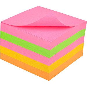 3M Post-it 654 SN 5 Neon Renk Süper Yapışkanlı Not Kağıdı 76 mm x 76 mm 450 Yaprak buyuk 2