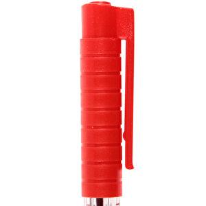 Faber Castell 1440 Tükenmez Kalem 0.8 mm Çelik Uçlu Kırmızı 50'li Paket buyuk 4