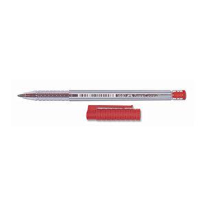 Faber Castell 1440 Tükenmez Kalem 0.8 mm Çelik Uçlu Kırmızı 50'li Paket buyuk 6