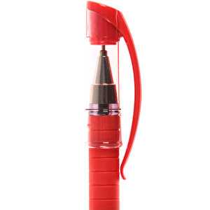 Faber Castell 1425 Tükenmez Kalem 0.7 mm İğne Uçlu Kırmızı 10'lu Paket