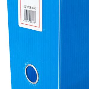 Üçgen Arşivleme Kutusu 770 Sayfa Kapasiteli 29 cm x 36 cm x 10 cm Mavi