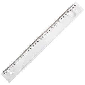 Ark Mercekli Cetvel 30 cm Şeffaf