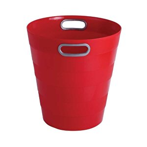 Ark 1051 Plastik Deliksiz Çöp Kovası Kırmızı 12.5 lt buyuk 2