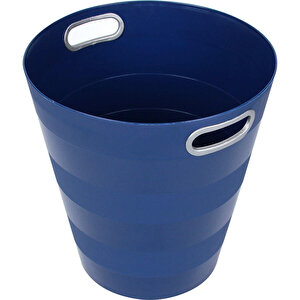 Ark 1051 Plastik Deliksiz Çöp Kovası Lacivert 12.5 lt