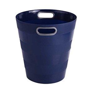Ark 1051 Plastik Deliksiz Çöp Kovası Lacivert 12.5 lt buyuk 2