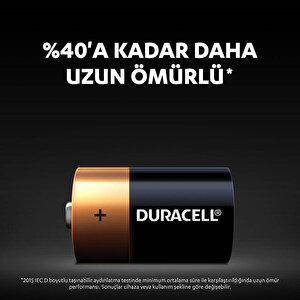 Duracell Alkalin D Piller, 2'li paket buyuk 4