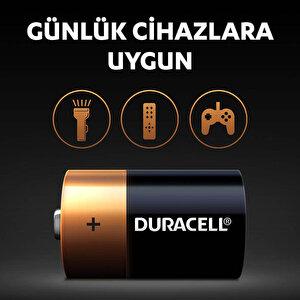 Duracell Alkalin D Piller, 2'li paket buyuk 5