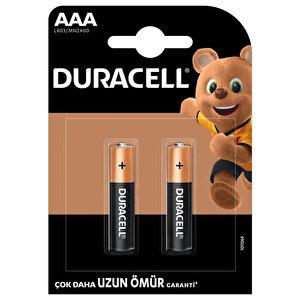 Duracell Alkalin AAA İnce Kalem Piller, 2'li paket buyuk 1