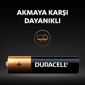 Duracell Alkalin AAA İnce Kalem Piller, 2'li paket buyuk 5