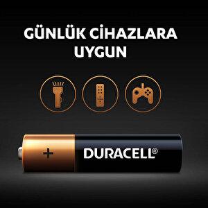 Duracell Alkalin AAA İnce Kalem Piller, 4'lü paket buyuk 5