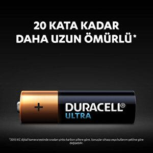Duracell Ultra Alkalin AA Kalem Piller, 4'lü paket buyuk 5