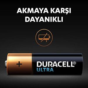 Duracell Ultra Alkalin AA Kalem Piller, 4'lü paket buyuk 6