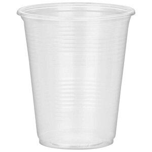 Huhtamaki Şeffaf Plastik Otomat Bardağı 180 ml 100'lü Paket buyuk 1