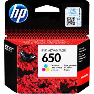 HP 650 Üç Renkli Kartuş CZ102AE buyuk 1