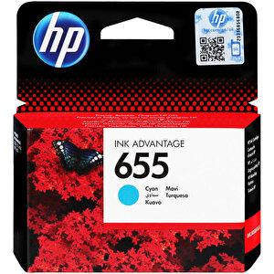 HP 655 Mavi (Cyan) Kartuş CZ110AE buyuk 1