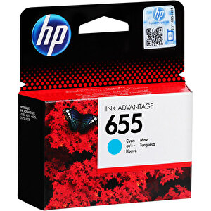 HP 655 Mavi (Cyan) Kartuş CZ110AE buyuk 2