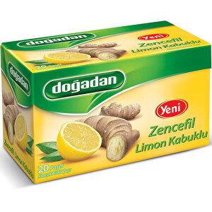 Doğadan Bitki Çayı Limon-Zencefil 20'li Paket buyuk 1