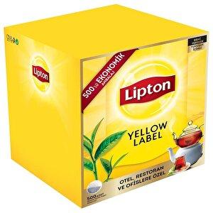 Lipton Yellow Label Demlik Poşet Çay 500'lü buyuk 1