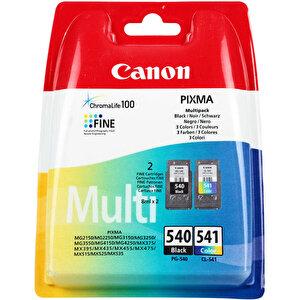 Canon 540 Siyah / 541 Renkli Kartuş (2'li Paket) PG-540 + CL-541 buyuk 1