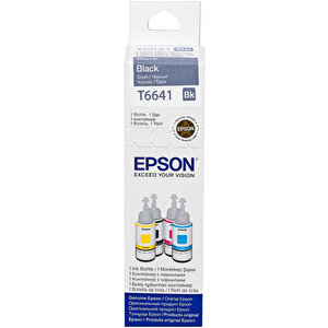 Epson T6641 Siyah (Black) Kartuş