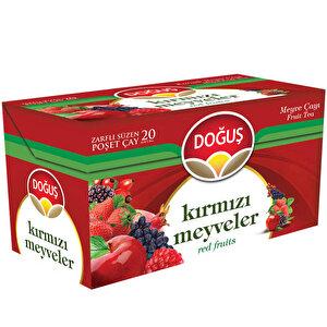 Doğuş Kırmızı Meyveler Çayı 20'li Paket buyuk 1