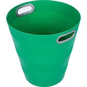 Ark 1051 Plastik Deliksiz Çöp Kovası Yeşil 12.5 lt buyuk 1