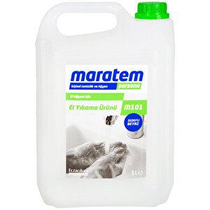Maratem M101 Sıvı El Sabunu Beyaz Sedefli 5 L buyuk 1