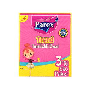 Parex Trend Temizlik Bezi 3'lü Paket
