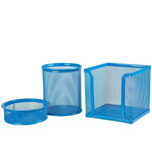 Mas 505 Masaüstü Set Mavi 3'lü Set buyuk 2