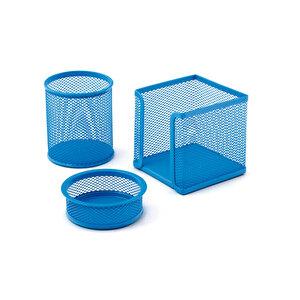 Mas 505 Masaüstü Set Mavi 3'lü Set buyuk 8