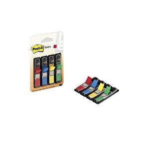 Post-it Index 683-4 İşaret Bandı Siyah Dispenserli 4 Renk buyuk 1