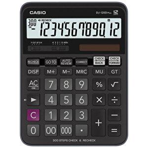 Casio DJ-120D Plus Hesap Makinesi 12 Haneli
