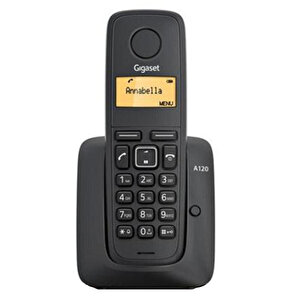 Gigaset A120 Telsiz (Dect) Telefon Siyah buyuk 1