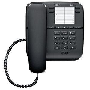Gigaset DA310 Kablolu Telefon Siyah buyuk 1