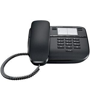 Gigaset DA310 Kablolu Telefon Siyah buyuk 2