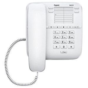 Gigaset DA310 Kablolu Telefon Beyaz buyuk 1