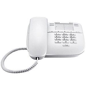 Gigaset DA310 Kablolu Telefon Beyaz buyuk 2