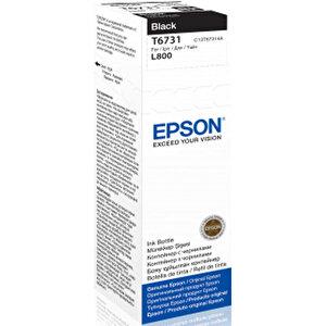 Epson L800 Kartuş Siyah (Black) 70 ml C13T67314A buyuk 1