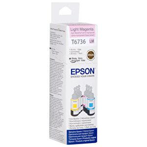 Epson L800 Kartuş Açık (Light-Magenta) 70 ml Kırmızı C13T67364A buyuk 2