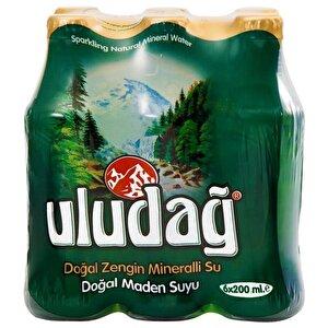 Uludağ Doğal Maden Suyu Sade 200 ml 6'lı Paket