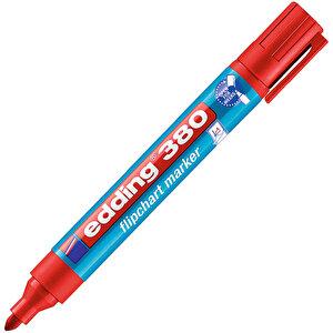 Edding 380 Flipchart Kalem Kırmızı buyuk 1