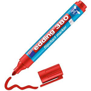 Edding 380 Flipchart Kalem Kırmızı buyuk 2