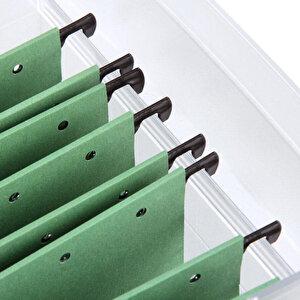 Leitz 6515 Askılı Dosya Telsiz Yeşil 5'li Paket